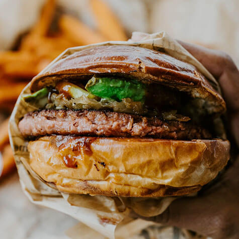 Bitang Vegán burger